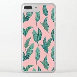 leaf Clear iPhone Case