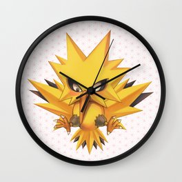 Zapdos Wall Clock
