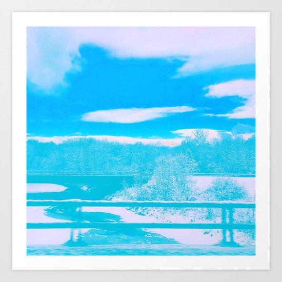 Winter Wanderland Art Print