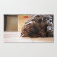 tyler oakley Canvas Prints featuring Oakley by ScottHasPopsicles