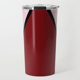 COLOUR COUPLES RED LIPSTICK #colour #minimal #fashion #design #home #decor #buyart Travel Mug