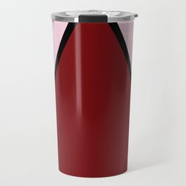 COLOUR COUPLES RED LIPSTICK #colour #minimal #fashion #design #home #decor #buyart Travel Mug