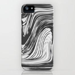 CAGE - BLACK iPhone Case