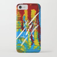 airplane iPhone & iPod Cases featuring Airplane by Lue Brentwood