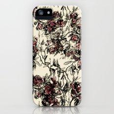 vintage rose iPhone (5, 5s) Slim Case