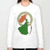 merida Long Sleeve T-shirts featuring Merida  by Cantabile