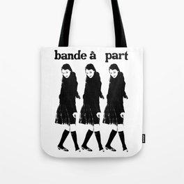 BAND A PART - ANNA KARINA / JEAN LUC GODARD- NOUVELLE VAGUE Tote Bag