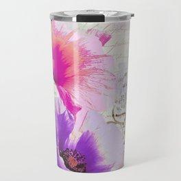 Poppies and Paint I Travel Mug
