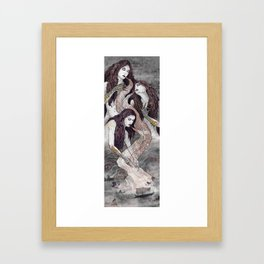 The Sirens' Lure Framed Art Print