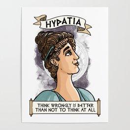 Hypatia of Alexandria Poster