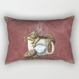 Tea Cup Dragon: Coffee Rectangular Pillow