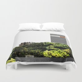 NYC Postoperative | Higher than yours  Duvet Cover