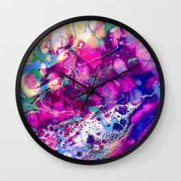 Purple Royalty Wall Clock