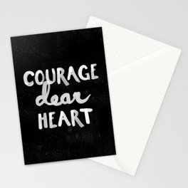 Courage Dear Heart Stationery Cards
