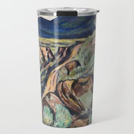 New Mexico Landscape by Marsden Hartley Travel Mug