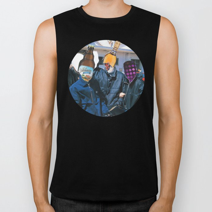 Meat Dream Party Land Series · The Boys Are Back In Town Biker Tank
