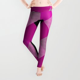 Geometrical Square Abstraction 19 Leggings