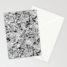 cute graphite Stationery Cards