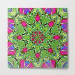 Abstract Flower AAA QQ B Metal Print