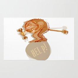 Help monkey Rug