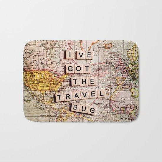 I've got the travel bug Bath Mat