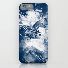 zebra splashed  iPhone 6s Slim Case