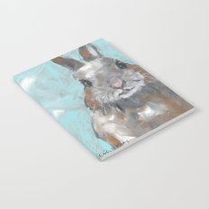 Fat Cat Bunny painting Notebook