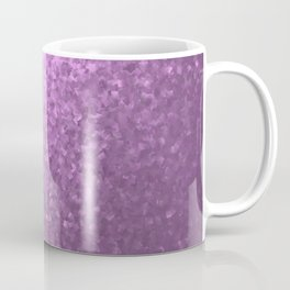 lilac collage of many small checks for a festive modern pattern Coffee Mug