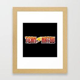Team Natsu Framed Art Print