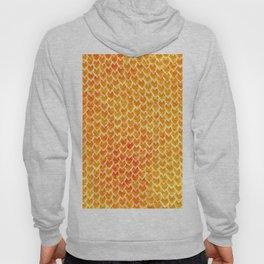 Mermaid Scales - Orange Gold Hoody