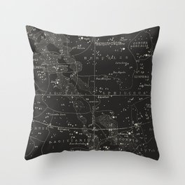 Southern Signs of Zodiac Throw Pillow