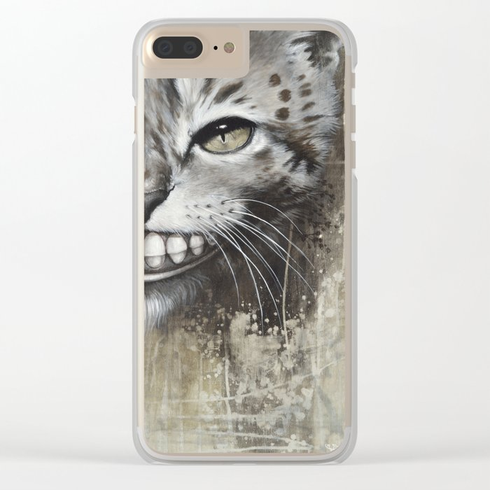 Le chat Clear iPhone Case