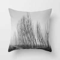dancing Throw Pillows featuring Dancing ... by Guido Montañés