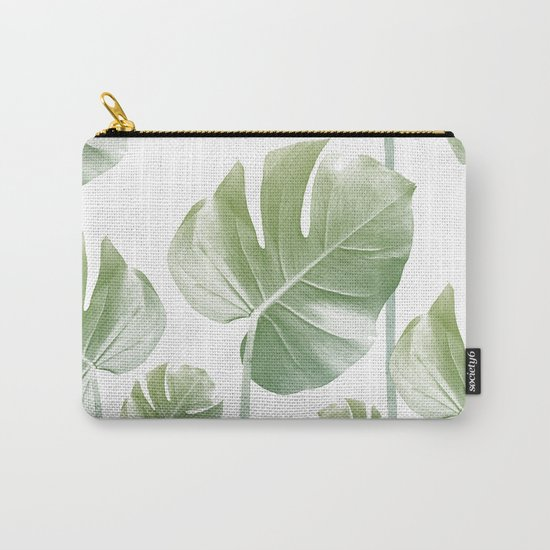 Monstera Rising Carry-All Pouch