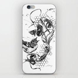 Flycatcher iPhone Skin