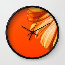 beautiful flower Wall Clock