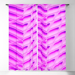 Pink Capsules Blackout Curtain