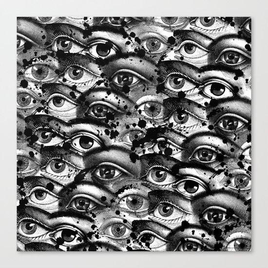 Watching You III Canvas Print