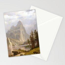 Albert Bierstadt Merced River, Yosemite Valley Stationery Cards