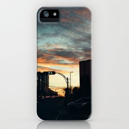 Carrefour Laval at Dusk - III iPhone Case