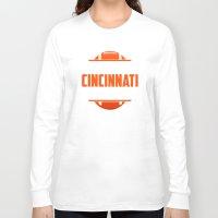 cincinnati Long Sleeve T-shirts featuring Its A Cincinnati Thing by Jacob Tyler FX