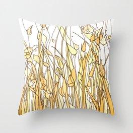 Meadow 5 Throw Pillow