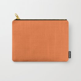 Boca Solid Shades - Apricot Carry-All Pouch