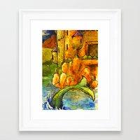 fairytale Framed Art Prints featuring Fairytale by SarahLiz