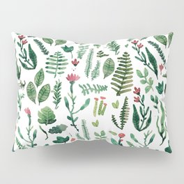 white pure nature Pillow Sham