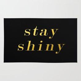 Stay Shiny Rug
