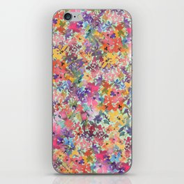 Prairie Wildflowers iPhone Skin
