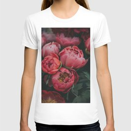 peonies #society6 #decor #buyart T-shirt