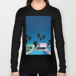 Hiroshi Nagai Art Print Poster Vaporwave Aesthetic Long Sleeve T-shirt