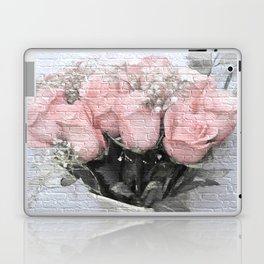 Love Silently - Flower Art Laptop & iPad Skin